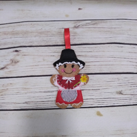 Welsh National Dress Gift, Wales gift, Welsh Gingerbread Lady