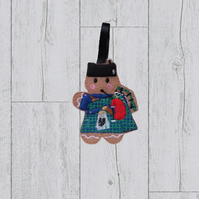 Scottish Bagpipe Gingerbread Gift, Scottish gift, Scottish Gingerbread