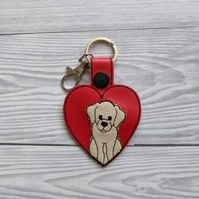 Cute Labrador dog keyring, labrador dog gifts
