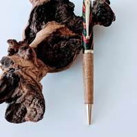 161  Ballpoint Pen made from Oasis Colour Grain Wood and English Oak