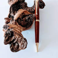 164  Ballpoint Pen made from Padauk