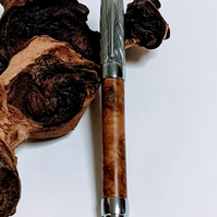 413 Fountain Pen made from Oak Burr