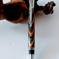 243 Executive Ballpoint Pen made from Southwest Colour Grain Wood