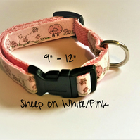 "9"" Small Handmade Dog Collars"