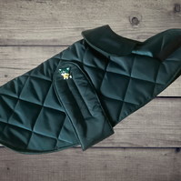 Waterproof Dog Coat, Quilted Dog Jacket, Handmade Quilted Dog Coat