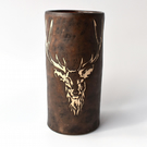 A286 Stag vase (Free UK postage)