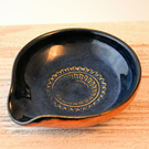 A388 Spoon rest tea bag bowl (Free UK postage)