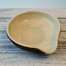 A385 Spoon rest tea bag bowl (Free UK postage)