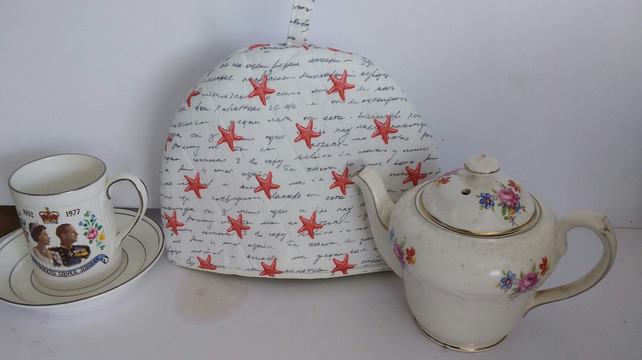 Starfish Tea Cosy-Tea for One