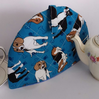 Tea Cosy For One - Dog Pattern