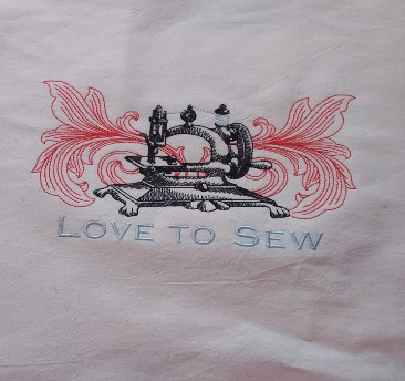 Embroidered Sewing T-shirt