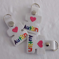 Autism Key Ring