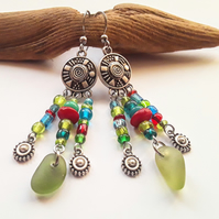 Bright & Beautiful Boho Earrings