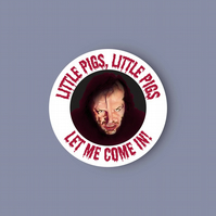 The Shining - Little Pigs  - glossy vinyl sticker . Halloween sticker