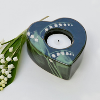 Lily of the Valley Tea Light Holder