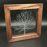 Freestanding Frame with Tree design