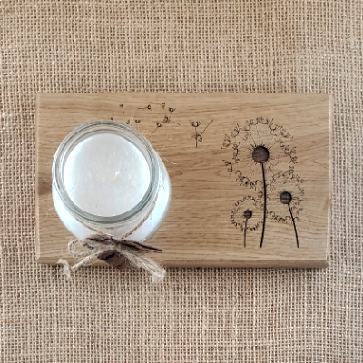 Wild and free - Dandelion Candleholder