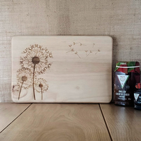 Blowball - Laser Engraved Wooden Chopping, Bread or Cheese Board