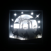 Nativity - 3D Light Picture