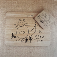 Child's Drawing Placemats - Coasters