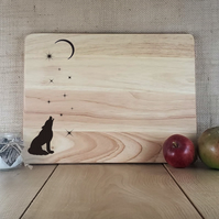 Something in the Air - Laser Engraved Wooden Cheese or Chopping Board