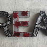 Spooky Spider DREAM Sign - Shelf-sitter - Ornament - Home ware.