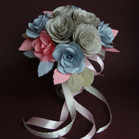 Literary Bouquet DARLING Medium Sized Book Roses Paper Book Lover Unique Flowers