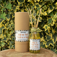 Uplifiting Reed Diffuser - Natural Room  Diffuser - Spring Reed Diffuser - Vegan