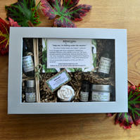 Get Well Soon Gift Box - Birthday Gift Box - Organic Gift Box - Gifts