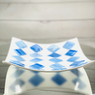 SALE ITEM FUSED GLASS DISH