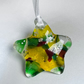 """You're a star "" fused glass hanging decoration"