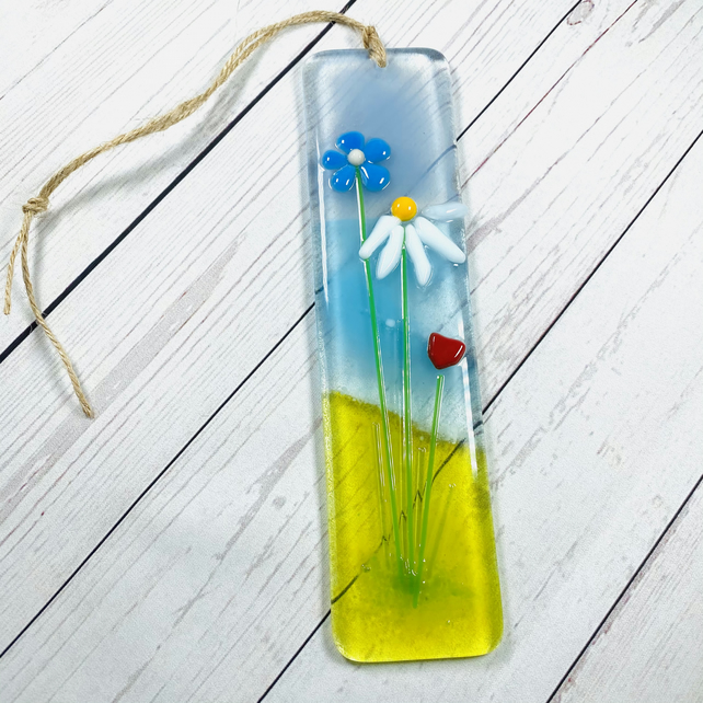 Dreaming of st Ives -glass hanging decoration