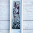 Beautiful muted fused glass meadows