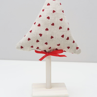 Handmade Fabric Tree Table Decoration