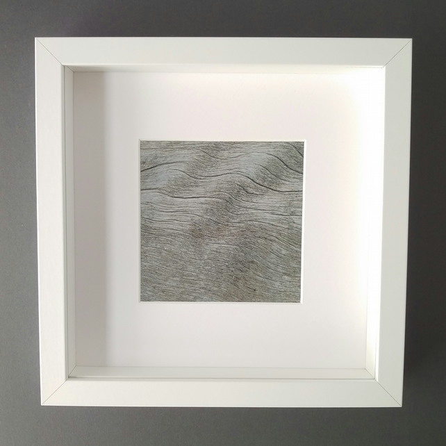Wooden Waves - Up Close Coast Framed Photograph