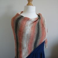 Knitted Wrap, Shawl, Stole
