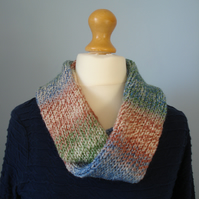 Infinity Scarf, Cowl, Double Thickness