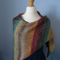 Northern Lights Shawl, Wrap