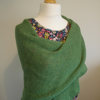 British Wool Shawl, Wrap