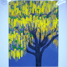 'Laburnum Bloom' original screen print