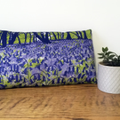 'Bluebell Woods' handmade cushion