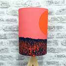 'Poppy Fields' handmade lampshade