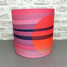 'Sundown' handmade lampshade