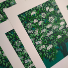 Elder Tree Green original screen TEST PRINT