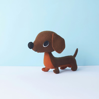 Little Dachshund pup ornament