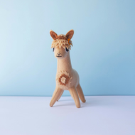 Cute Alpaca soft sculpture