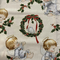 Christmas Fabric Half Metre Cotton Ref541