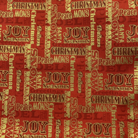 Christmas Fabric Half Metre Cotton  Ref 547