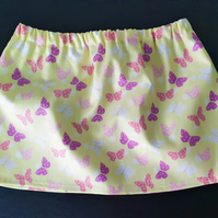 Baby's skirt with fun butterfly print