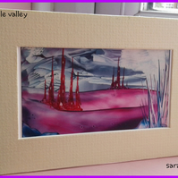 castle valley miniature painting